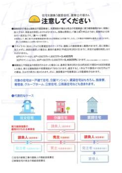 新規着工住宅に保険の義務付け3