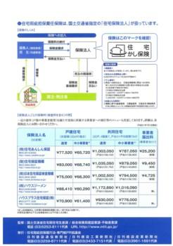 新規着工住宅に保険の義務付け4
