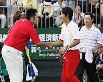 ゴルフの日本オープンに感動!