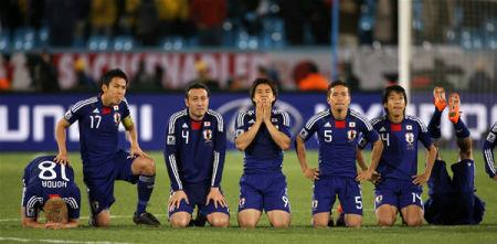 日本選手に感動!