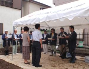 工事着工式及び地鎮祭開催