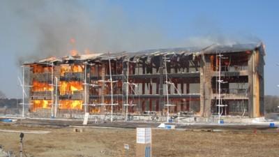 木造3階建て学校の耐火性能を検証