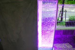クラッシュガラス紫