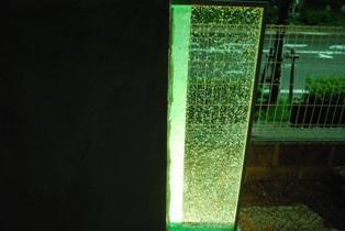 クラッシュガラス緑