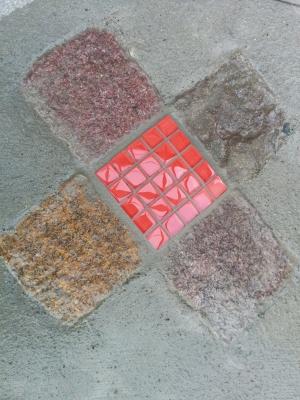 石ガラスモザイク1
