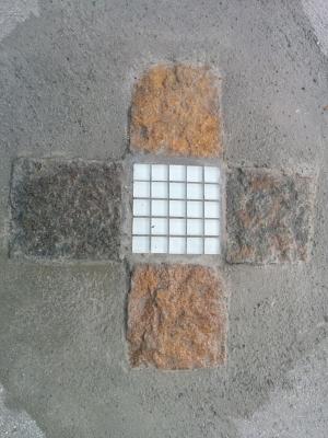 石ガラスモザイク