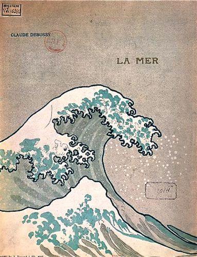 『海』の楽譜の表紙