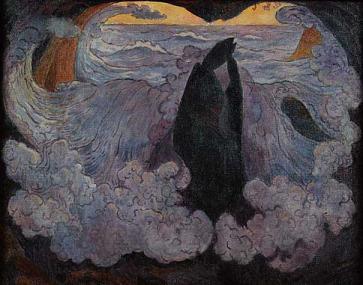 ジョルジュ・ラコンブ 紫色の波