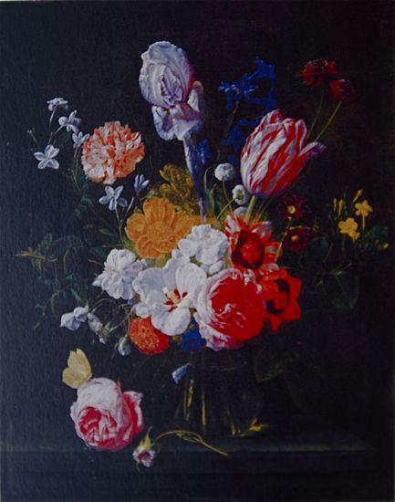 フェーレンダール《ガラス花瓶の花束》