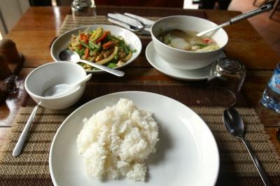 ルアンパバーンでの昼食
