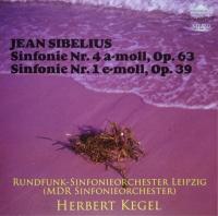 ケーゲル指揮、シベリウス交響曲第4番のジャケット