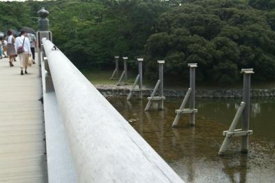 宇治橋の擬宝珠(ぎぼし)