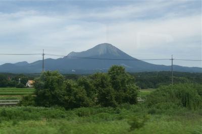 伯備線から見る大山