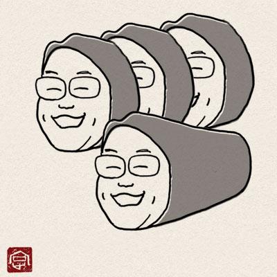 須坂 キャラ モンスター 信州須坂老舗百年會 農 伝統野菜 松栄寿司 須坂店