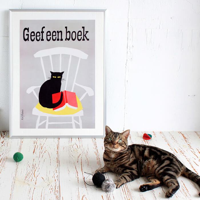 猫 ポスター おしゃれ