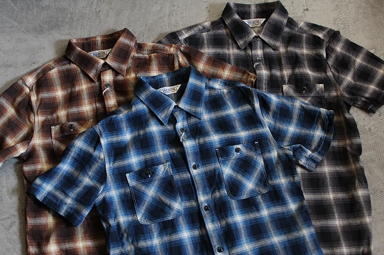 Five Brother Light Flannel Work S S Shirts