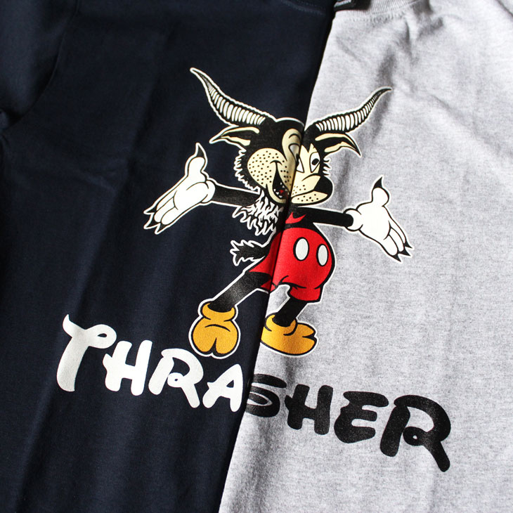 8476870564a THRASHER Mouse Goat Tee   Lope Snap Back Cap!!