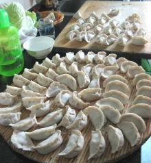 手作り餃子2