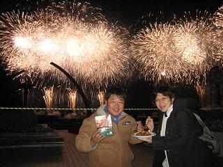 冬の熱海花火大会