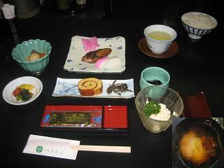 料亭きむらの朝食