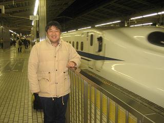 新幹線のぞみ52号