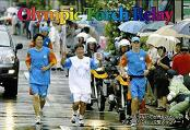 アテネオリンピック聖火ランナー