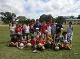 フィリピンへサッカーボール