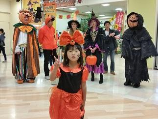 2016セン北秋のスペシャルイベント「街中ハロウィンパレード」でパレードプリンセスに選ばれました!
