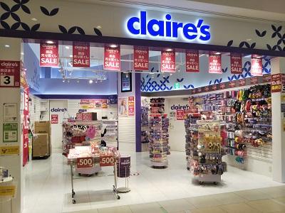 閉店 クレアーズ アメリカ発の人気アクセサリーブランド「クレアーズ」が日本撤退へ。エキスポシティのお店も閉店するみたい