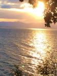 シャーレ水ヶ浜・夕陽1