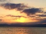 シャーレ水ヶ浜・夕陽2