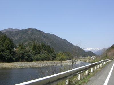 国道157号線