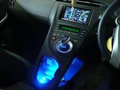 プリウス内装LEDライティング
