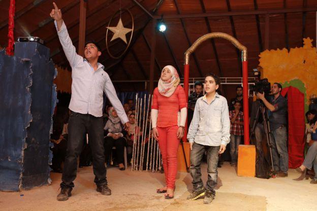 シリア難民によるロミオとジュリエット