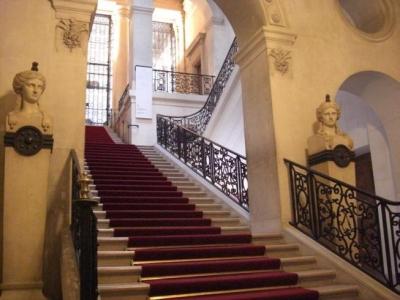 美しい階段です