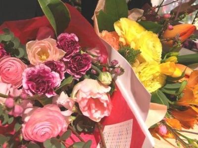 うれしい花束