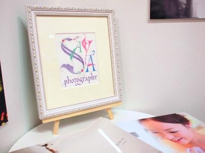 photographerSAYAの飾り文字