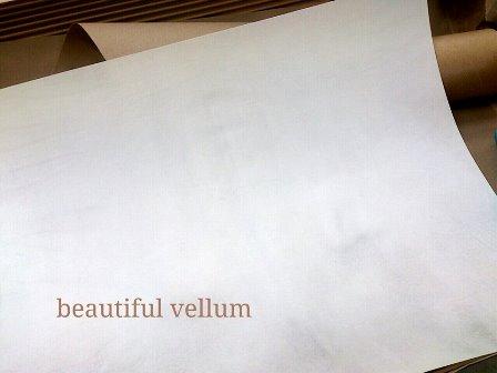 美しい羊皮紙