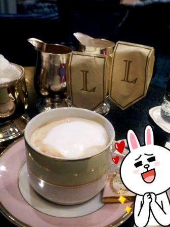 ラデュレでカフェオレ