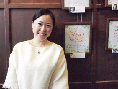 メッセージフェスタ2015 in KITTEキッテ カリグラフィー教室 モジ・アカデミア カリグラファー西村弥生