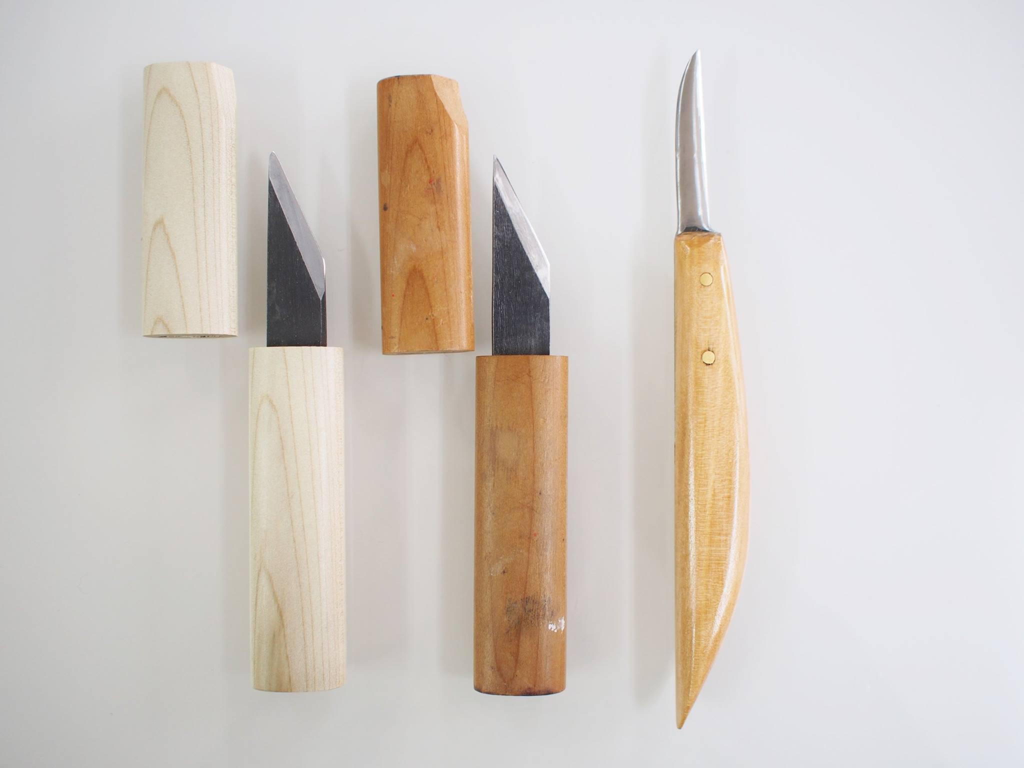 羽根ペン用のナイフ(クイルナイフ)