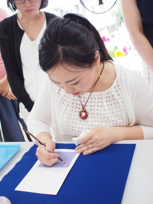 カリグラフィー教室 モジ・アカデミア /体験レッスン