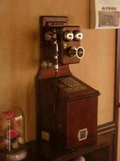 レトロ調公衆電話