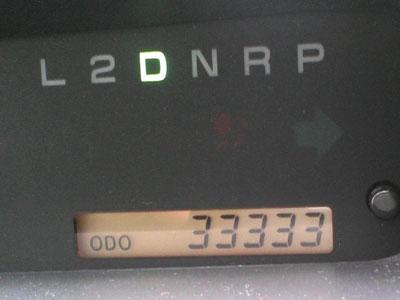 祝!33333km