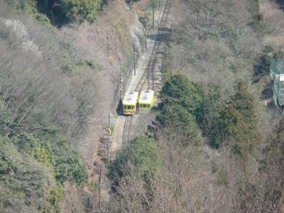 高尾山の新ケーブルカー