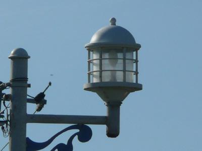 燈台風の街灯