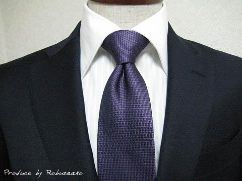 ネクタイの締め方/結び方① (ディンプルの作り方)