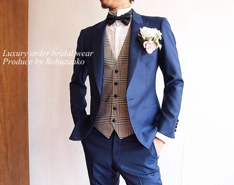 新郎も主役!結婚式で素敵だと思われるタキシードの選び方\u203b画像あり