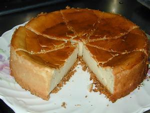 メープル風味チーズケーキ