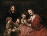 レンブラント家族の肖像
